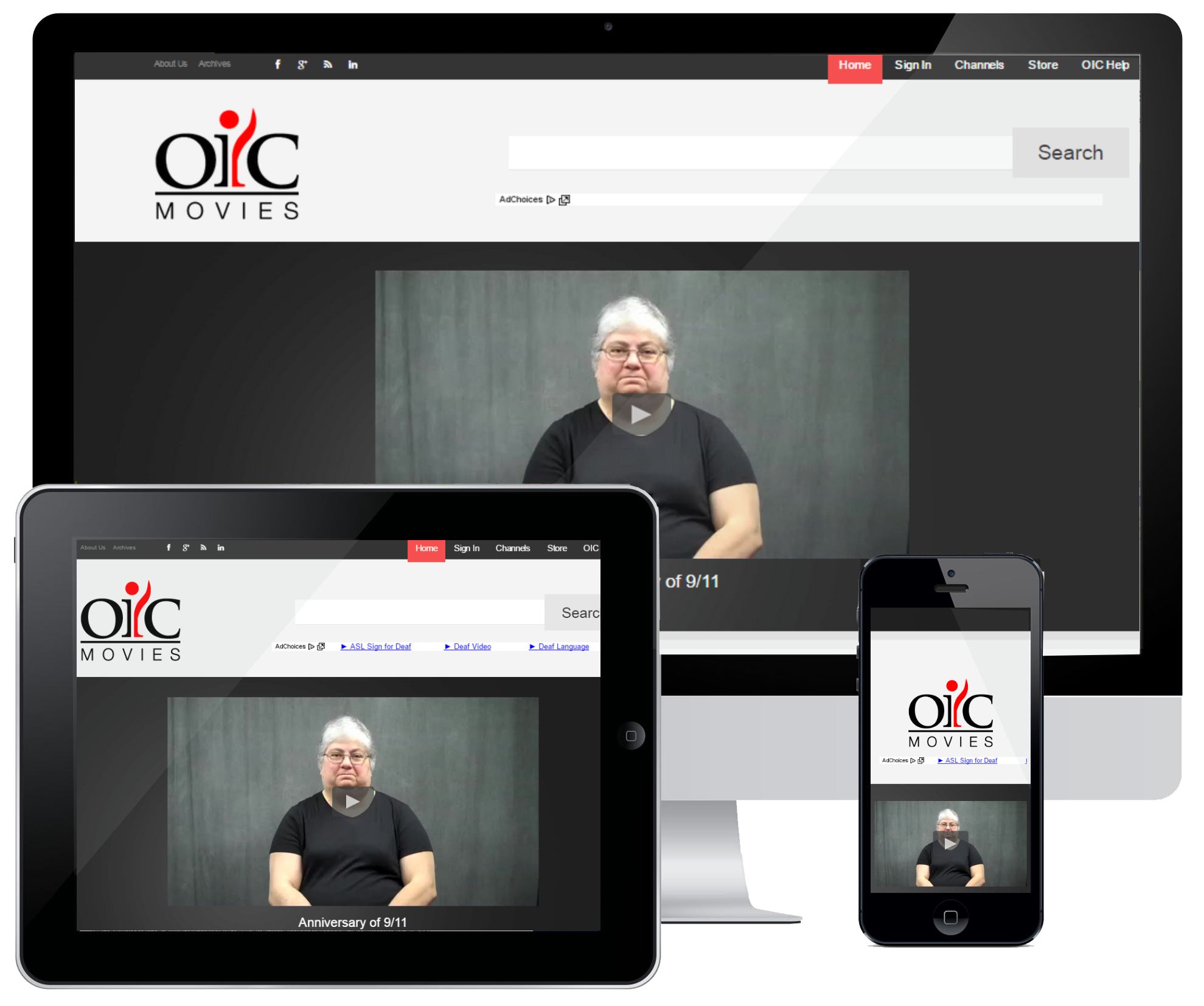 OIC Movies American Sign Language Service Detroit, Michigan