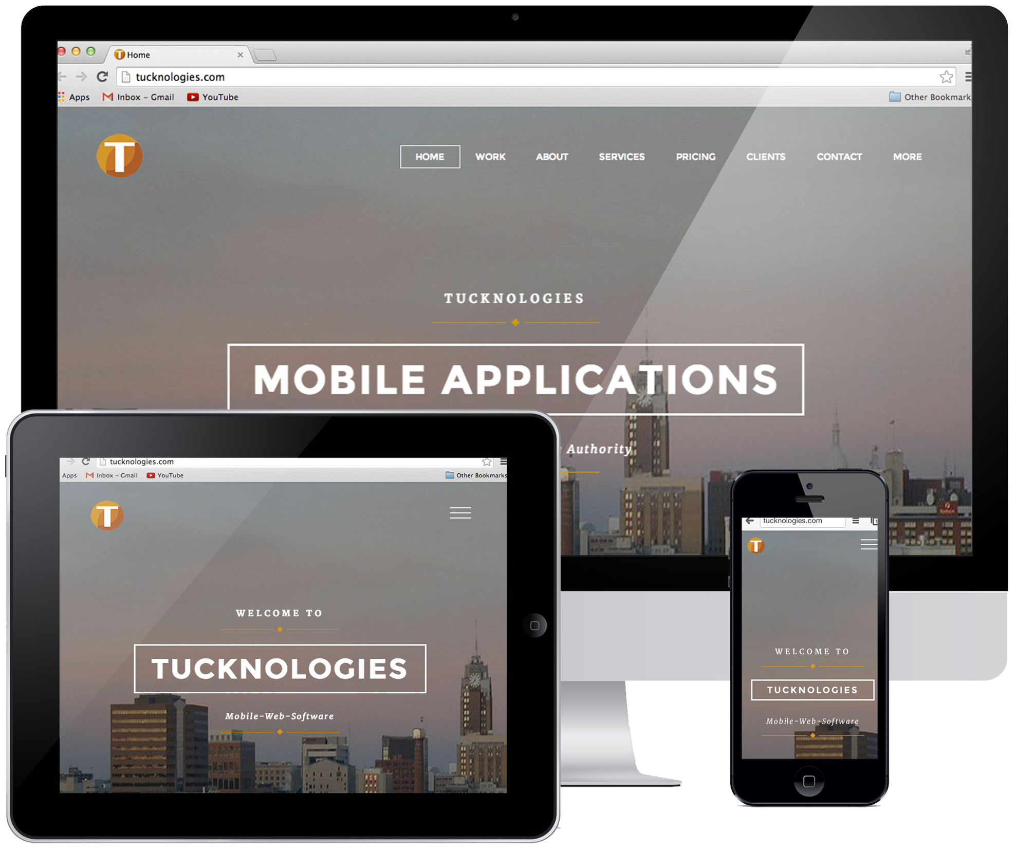 Tucknologies Software Mobile Application and Website Development East Lansing, Michigan